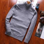 北极绒新款男士高领羊毛衫BJR16C802